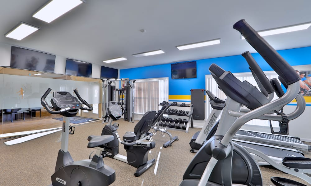Willow Lake Apartment Homes offers a fitness center in Laurel