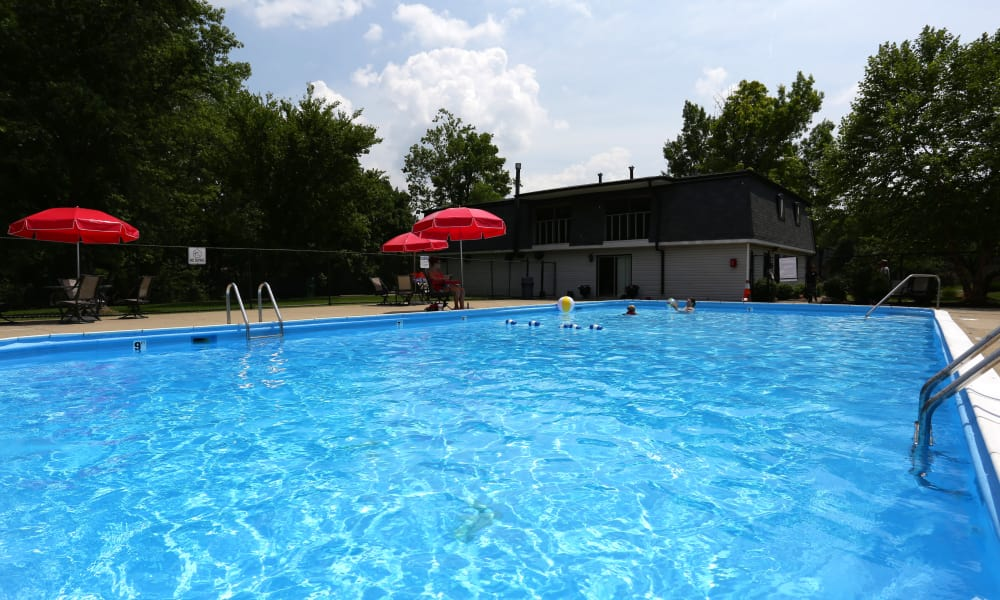 Our apartments in Louisville, Kentucky offer a swimming pool