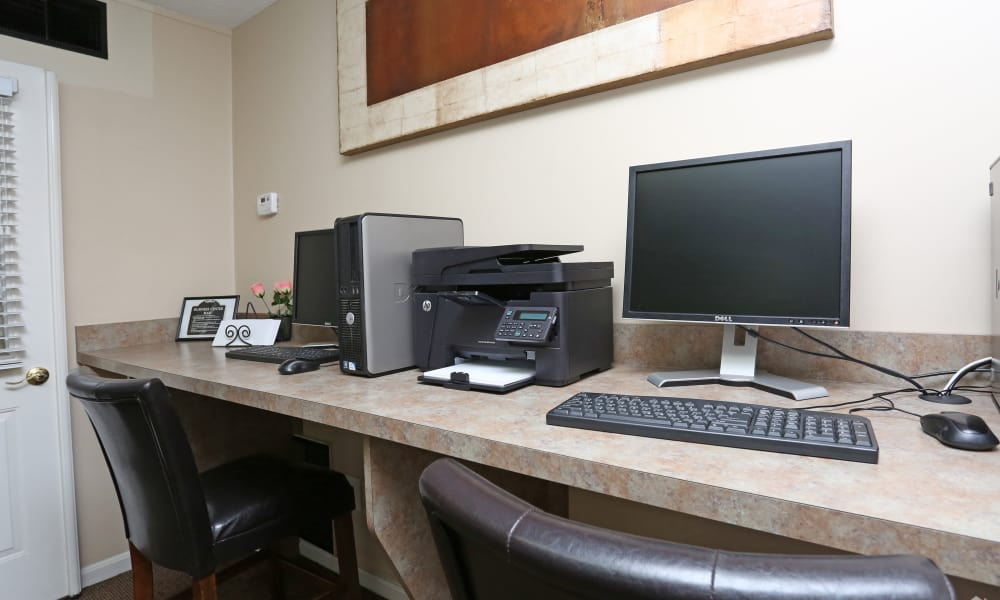 Victoria Gardens Apartments offers a business center in Louisville, Kentucky
