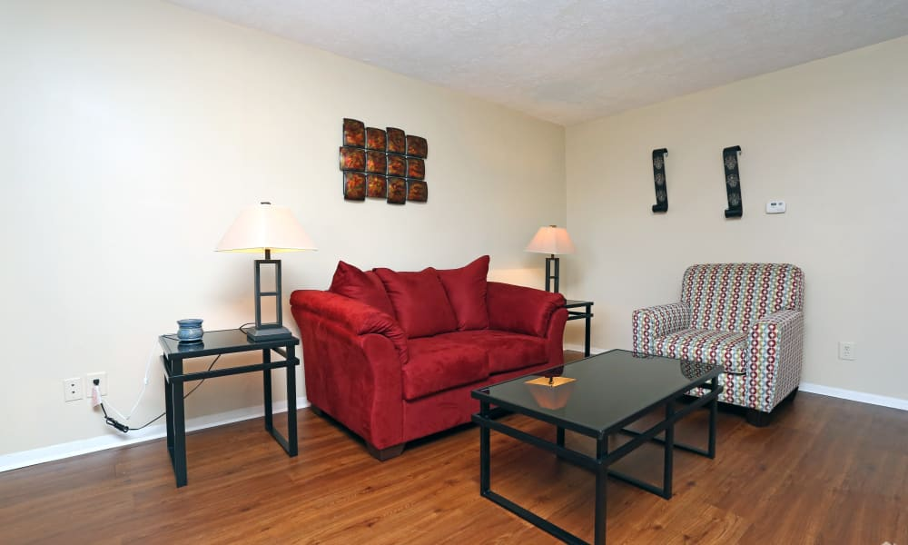 Our apartments in Louisville, Kentucky offer a living room