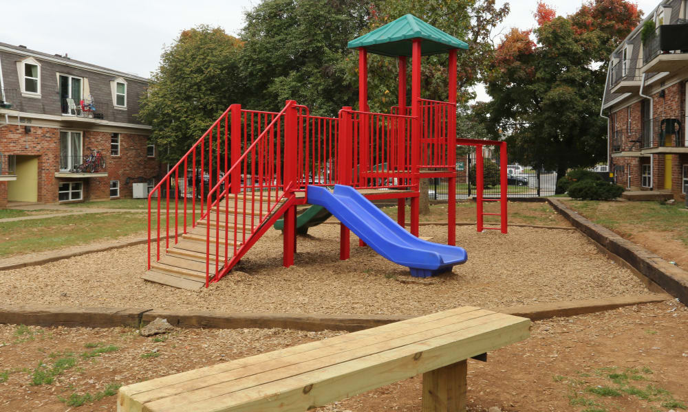 Playground at King Henry Apartments in Lexington, Kentucky