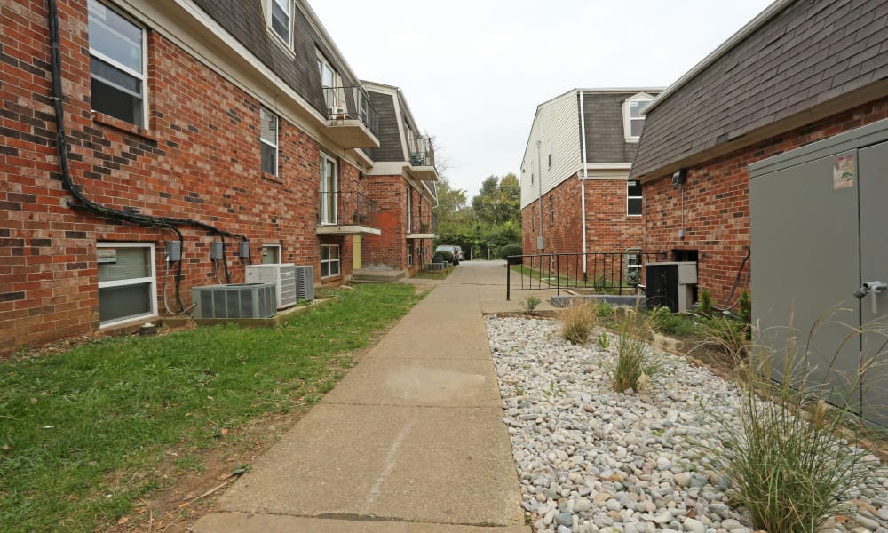 Our apartments in Lexington, Kentucky offer a walking paths