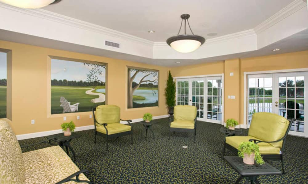Enjoy at out lounge at Arbor Oaks at Lakeland Hills in Lakeland, Florida
