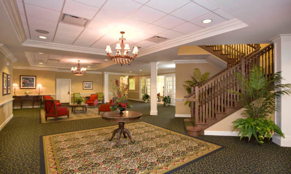 Main foyer at Arbor Oaks at Lakeland Hills