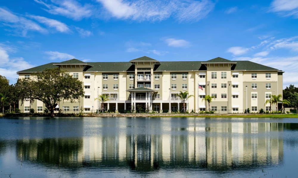 Exterior view of the Arbor Hills community in Lakeland, Florida