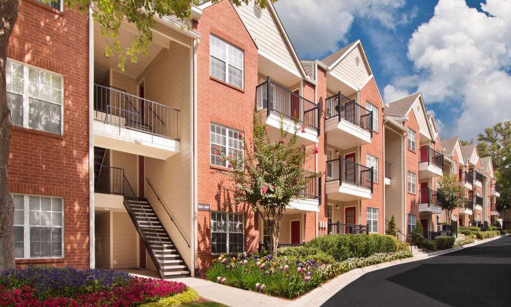 View of the apartments at Brookwood Valley
