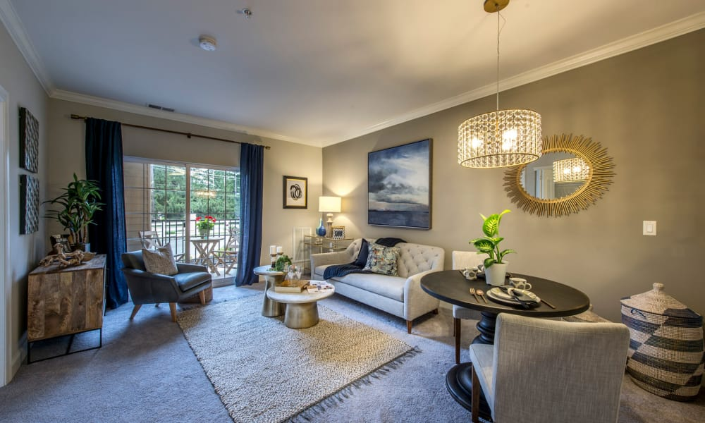 Enjoy ample living spaces at The Cove at Riverwinds
