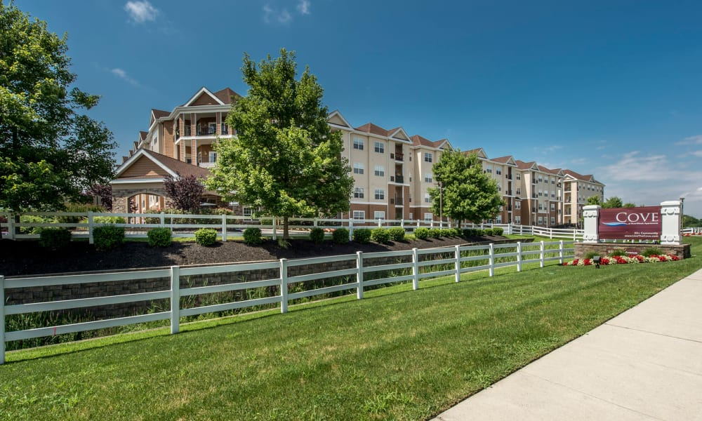Beautiful apartments for rent at The Cove at Riverwinds in West Deptford, New Jersey