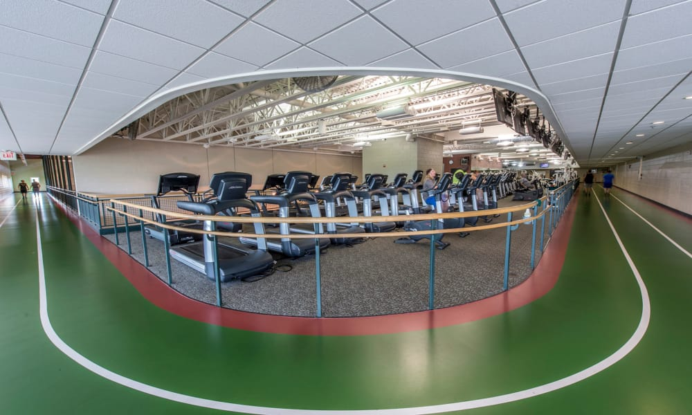 Fitness center at The Cove at Riverwinds