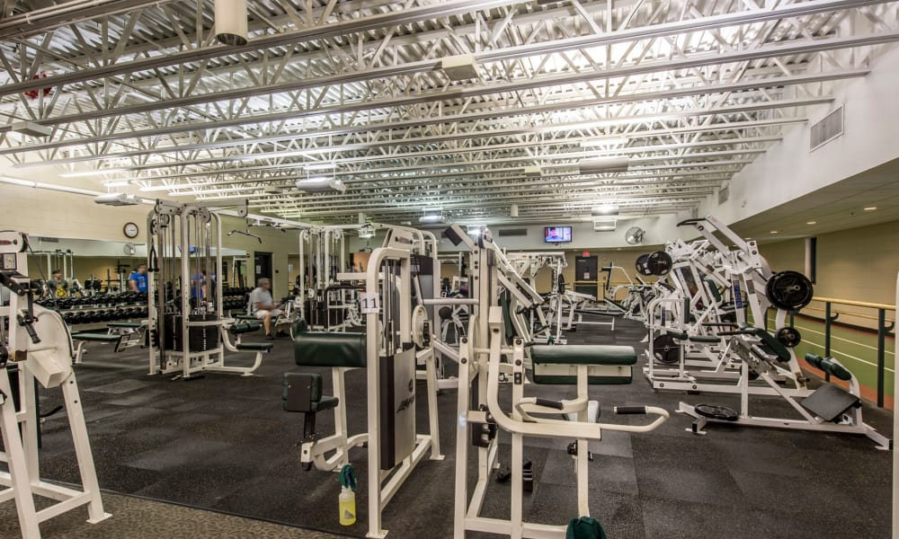 The Cove at Riverwinds fitness center in West Deptford, New Jersey