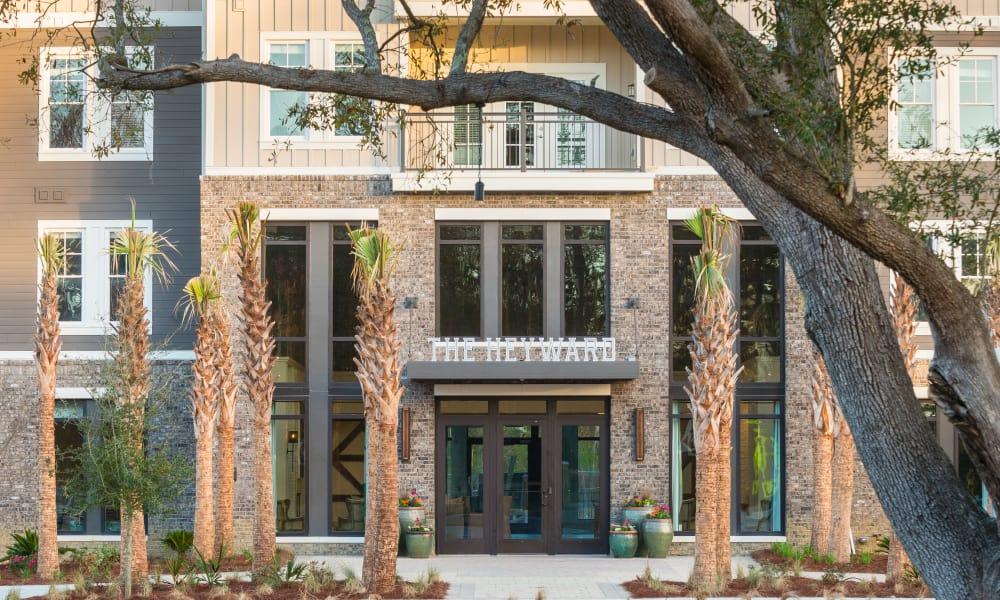 Main entrance at The Heyward in Charleston, South Carolina