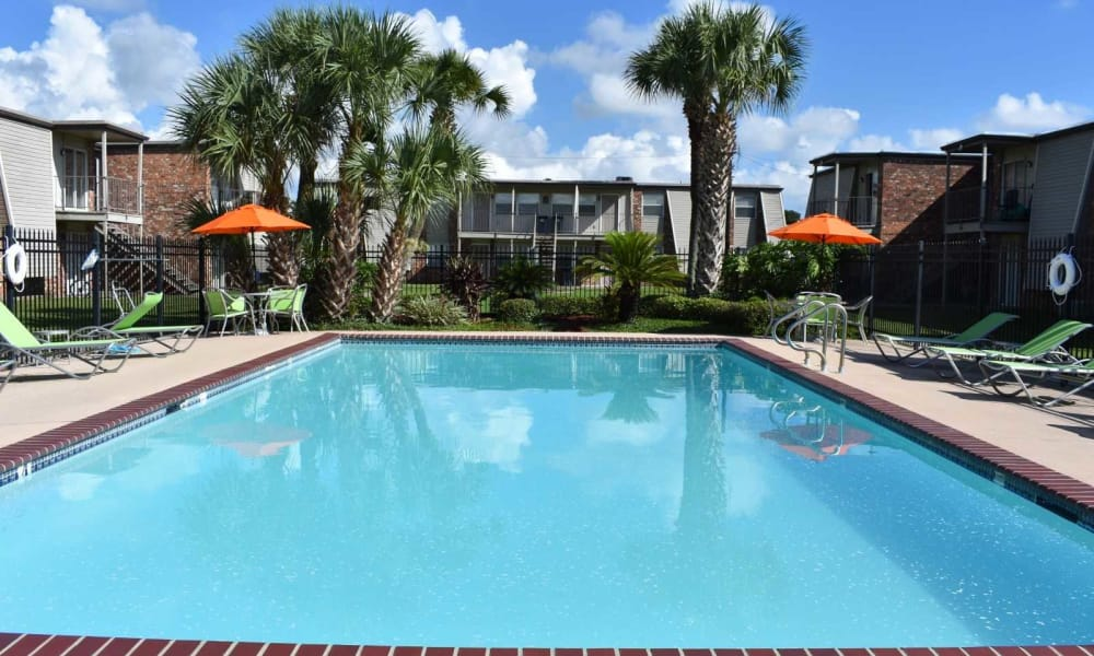 Our apartments in Harvey, Louisiana offer a swimming pool