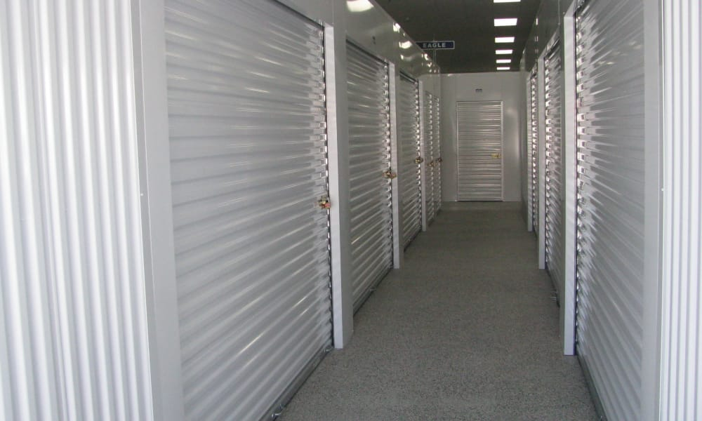 Self storage units at A Better Self Storage South Academy in Colorado Springs, CO
