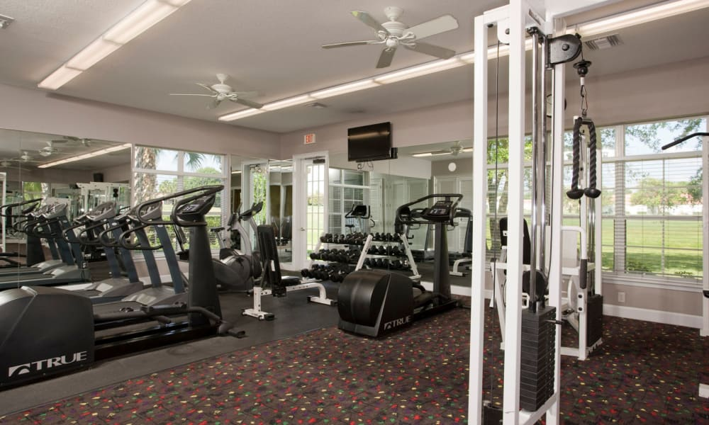 Fitness Center at Audubon Oaks in Lakeland, Florida