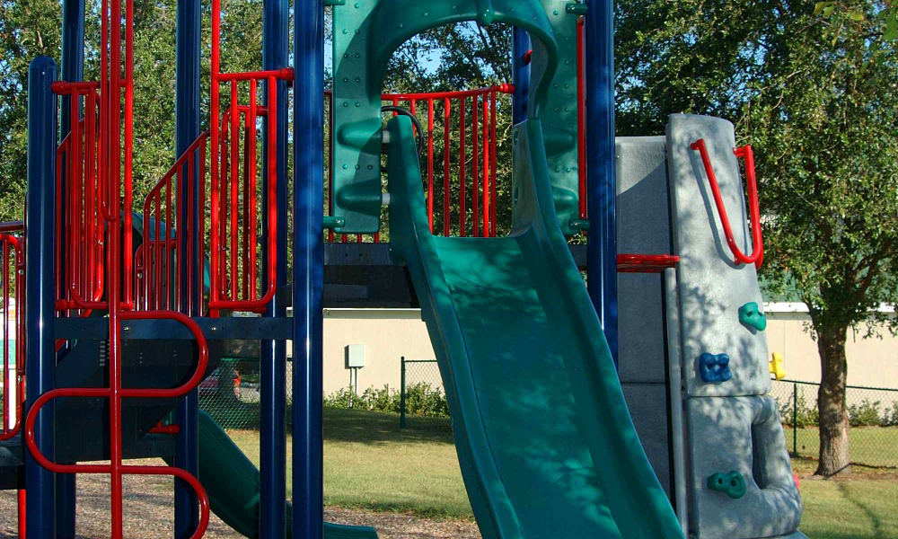 Children's play-place at Audubon Oaks in Lakeland, Florida