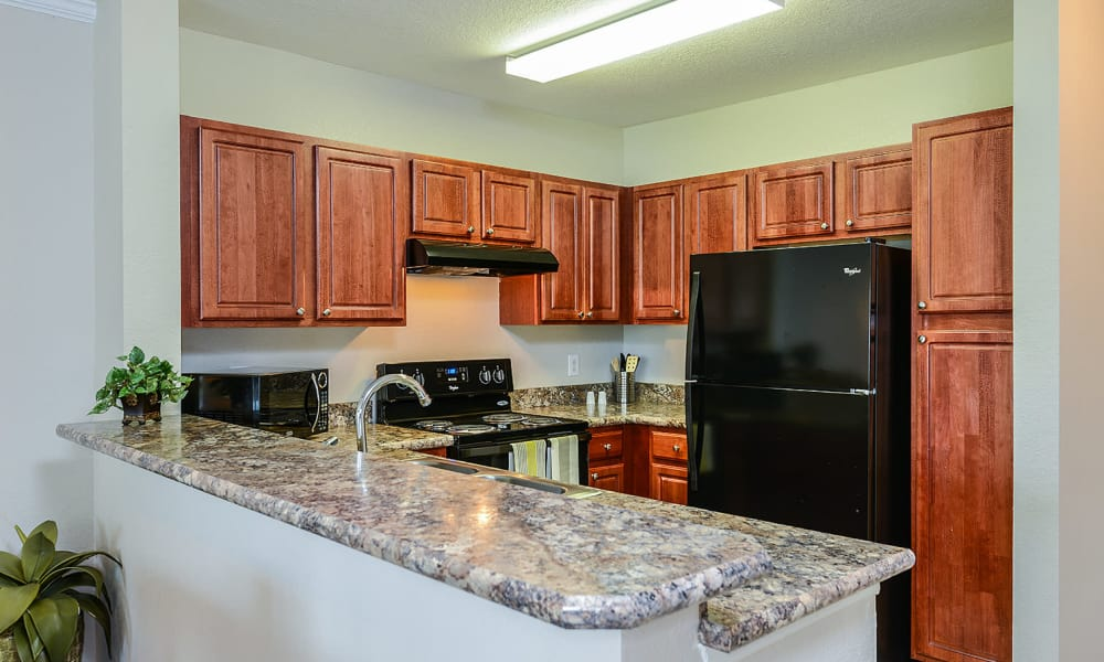 Kitchen at Audubon Oaks in Lakeland, Florida