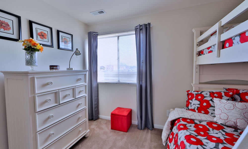 Our apartments in Dundalk, Maryland showcase a luxury bedroom