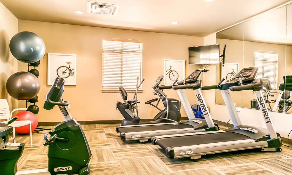Affinity Living Communities fitness area
