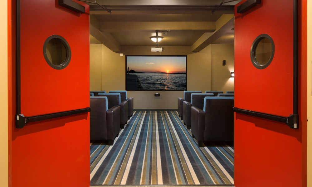 Affinity Living Communities movie theater