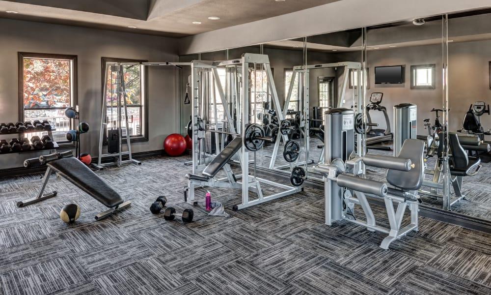 Hyde Park at Ribelin Ranch fitness center