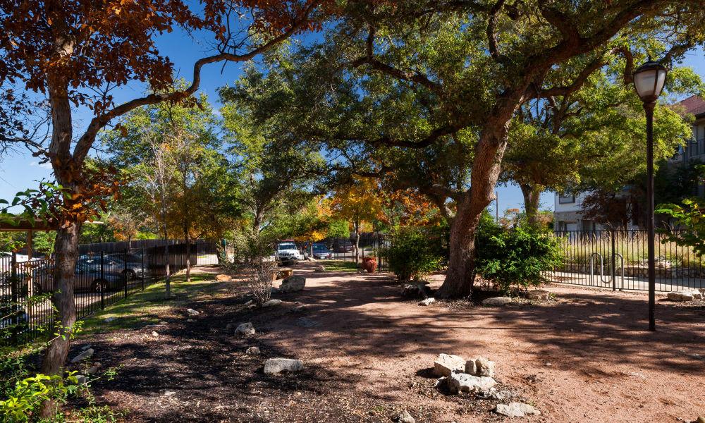 Wonderful park at Hyde Park at Ribelin Ranch in Austin