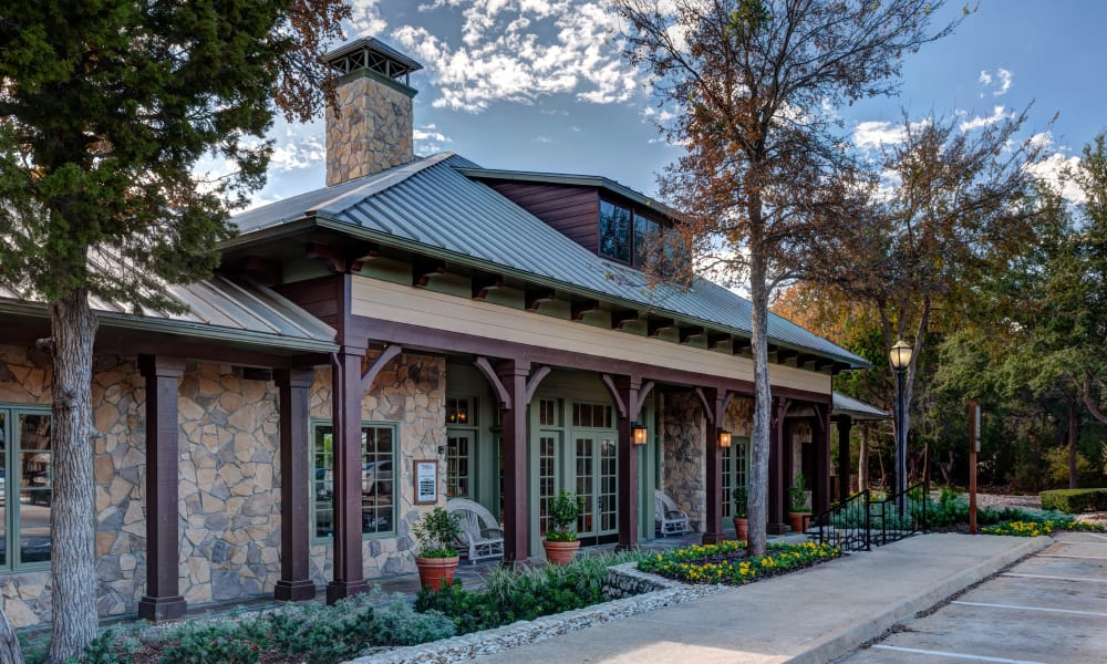 Beautiful clubhouse at Tintara at Canyon Creek in Austin