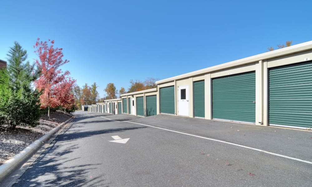 Anchor Self Storage of Cornelius features exterior storage units in Cornelius, North Carolina
