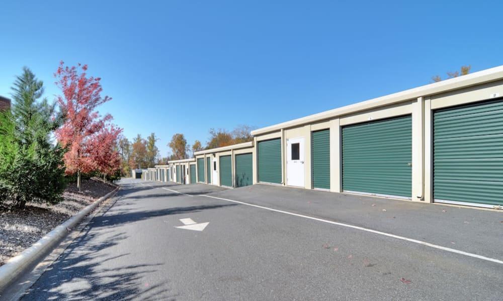 Anchor Self Storage of Cornelius features exterior storage units in Cornelius, North Carolina