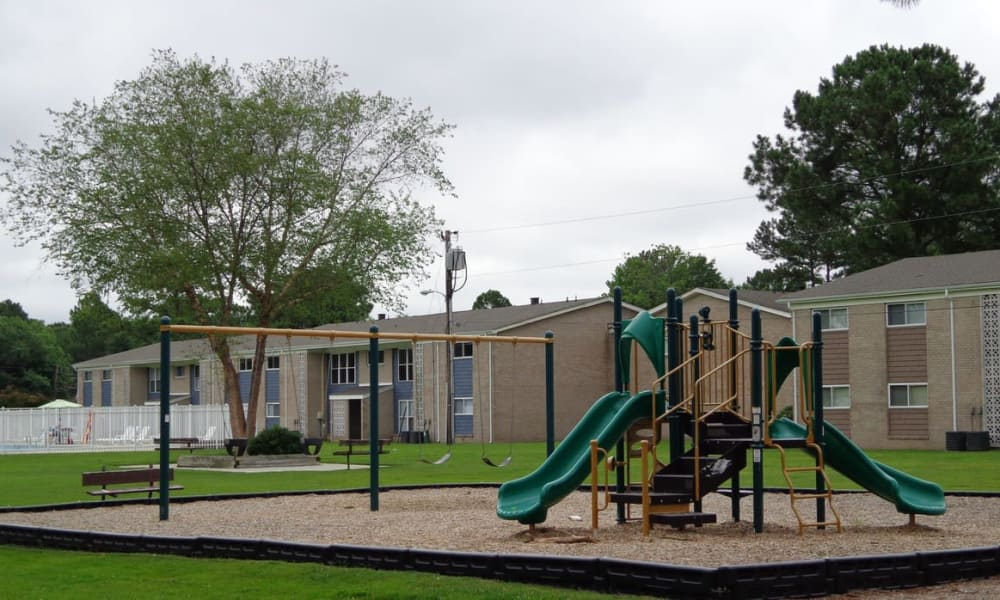 Wonderful Residences at Crawford Farms playground in Portsmouth, Virginia