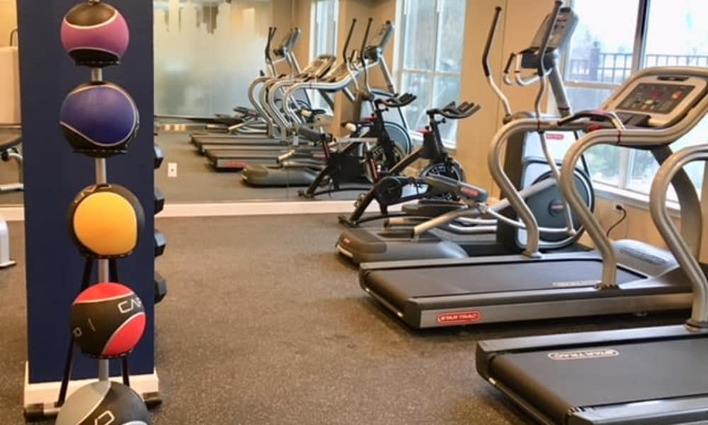 Parkland at West Oaks' community fitness center