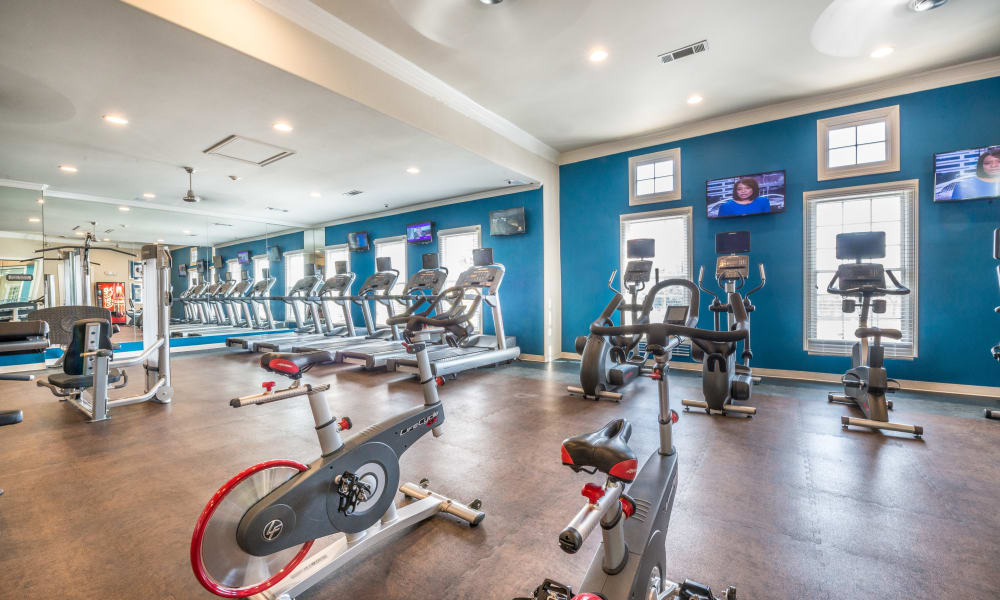 Bella Vida Estates fitness area in Plano, Texas