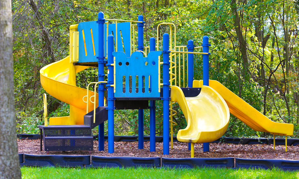 Playground area at Gateway Village Apartments in Jessup, Maryland