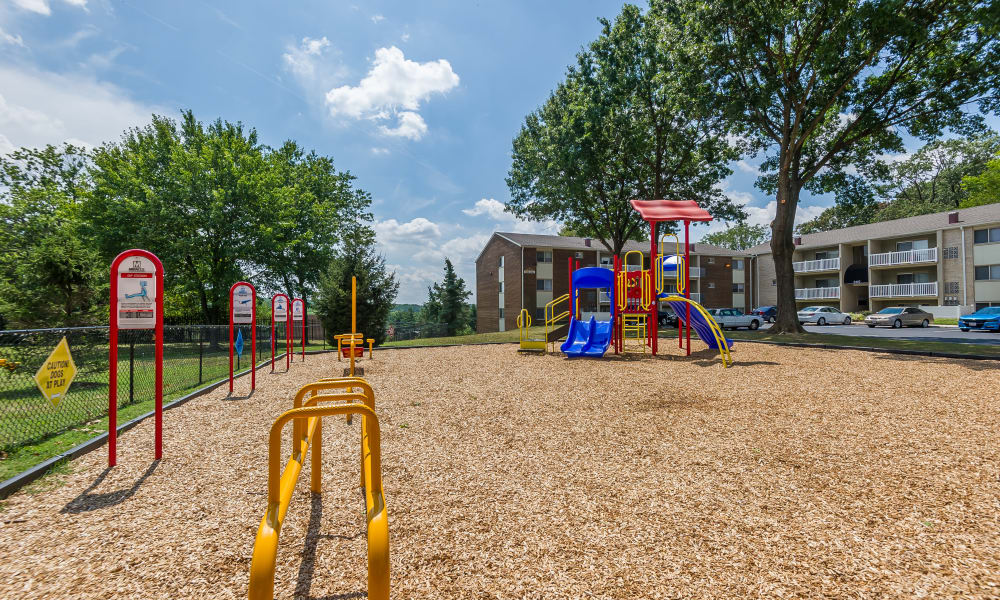 Beautiful park at Henson Creek Apartment Homes in Temple Hills, MD