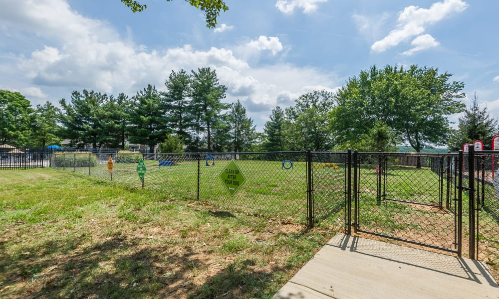 Dog park at Henson Creek Apartment Homes in Temple Hills, MD