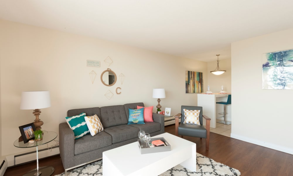 Ample living space at Calgary Place Apartments