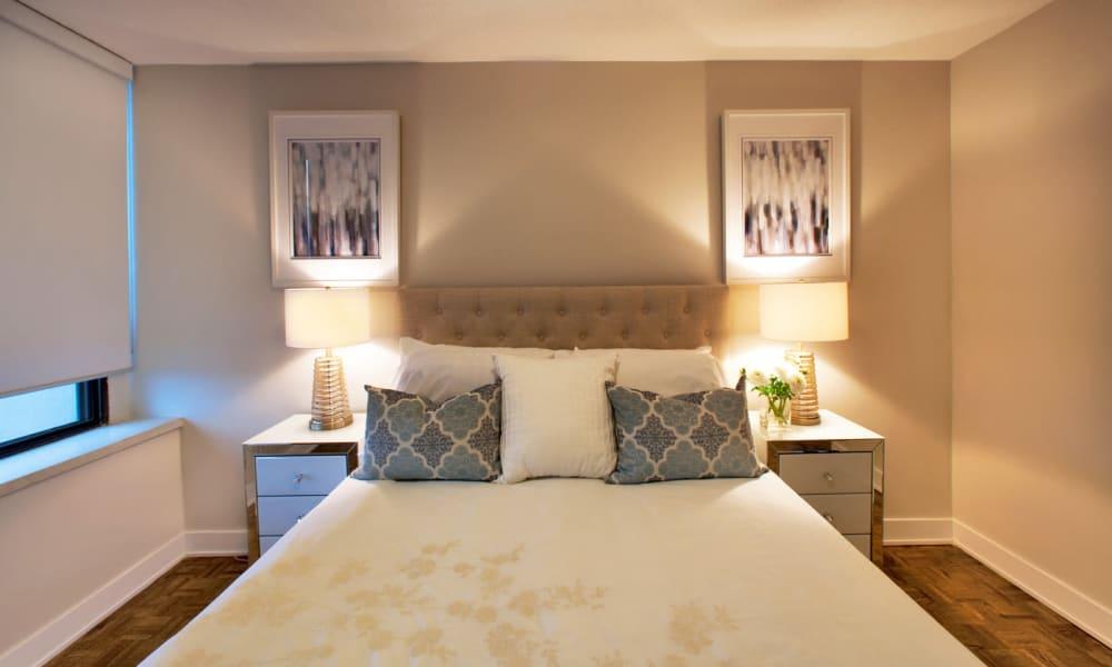 Bedroom at Widdicombe Place in Etobicoke