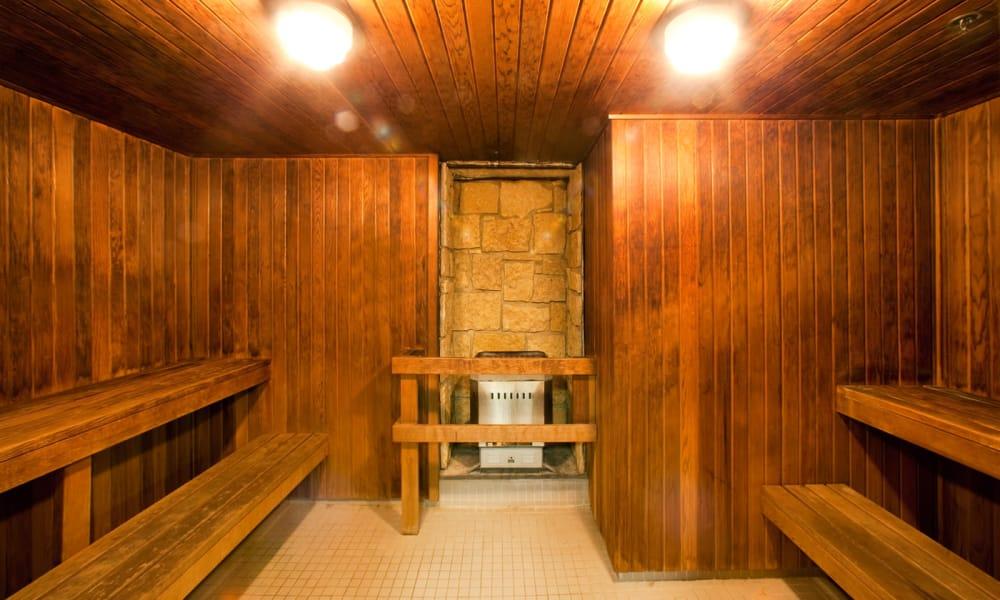Sauna at Widdicombe Place in Etobicoke