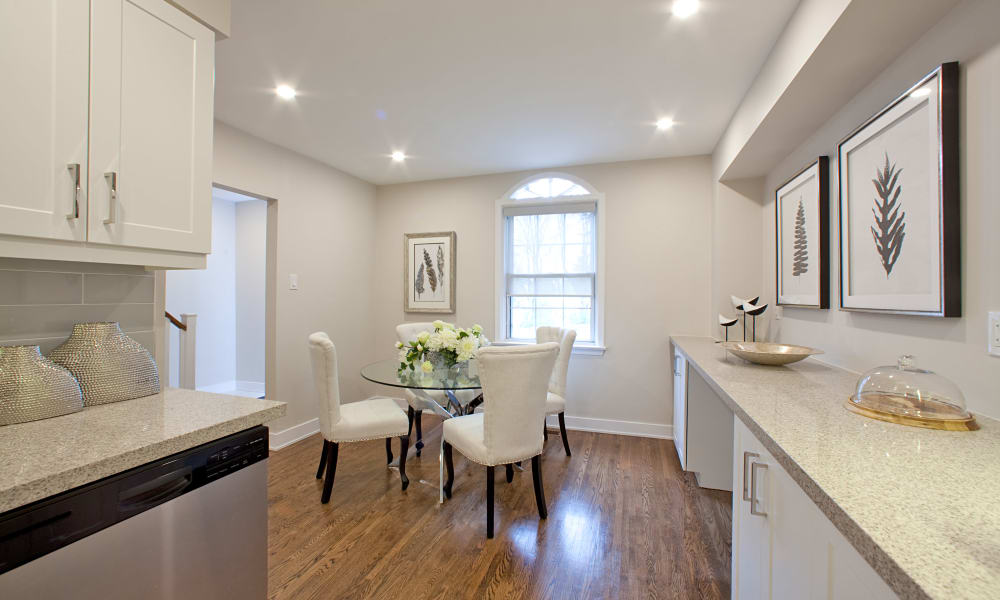 Bright open floor plans at Lion's Gate in Etobicoke, Ontario