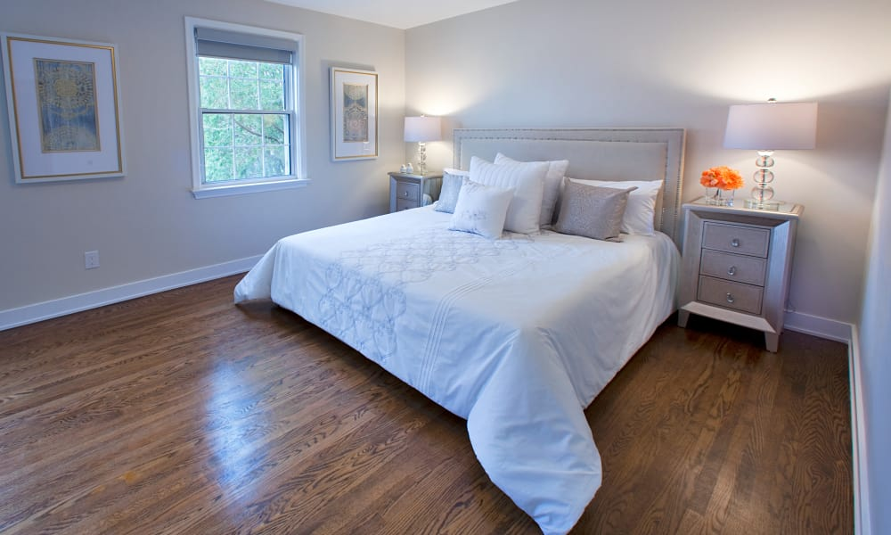 Master bedroom at Lion's Gate in Etobicoke
