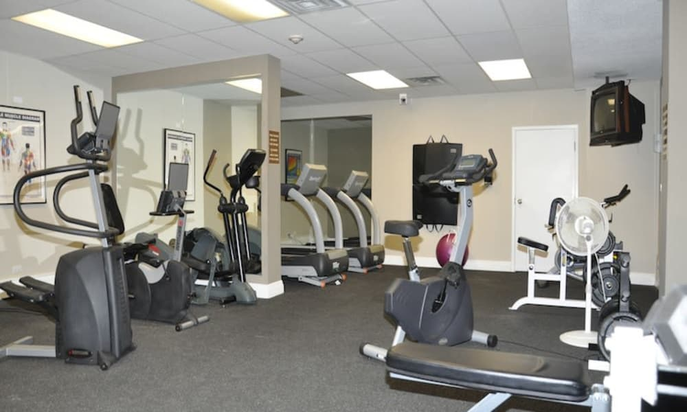 Glenmore Heights offers a well-equipped fitness facility