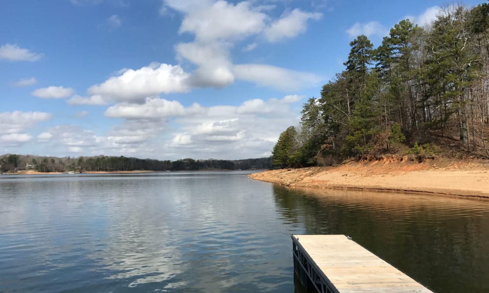 Lake near The Phoenix at Lake Lanier in Gainesville, GA