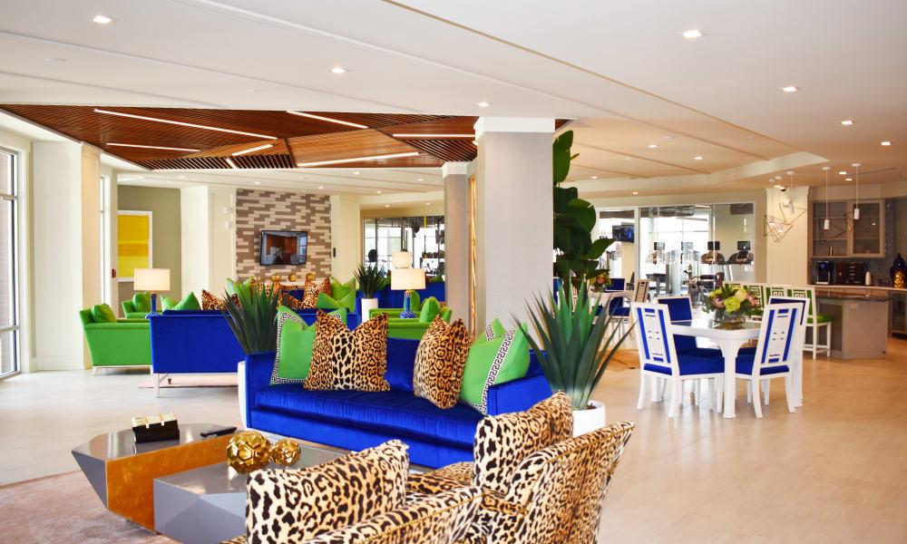 Clubhouse at Solstice Signature Apartment Homes in Orlando, Florida