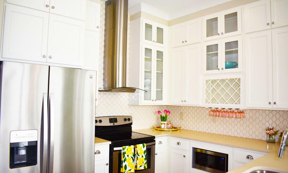 Kitchen at Solstice Signature Apartment Homes in Orlando, Florida