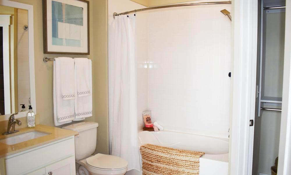 Bathroom at Solstice Signature Apartment Homes in Orlando, Florida