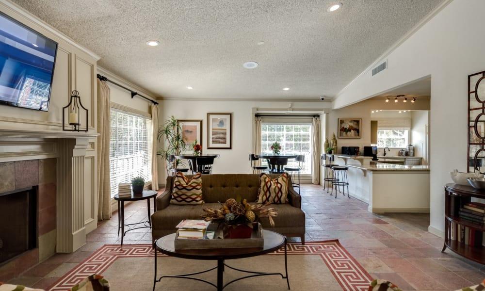 Apartment interior at The Paramount in Houston, Texas