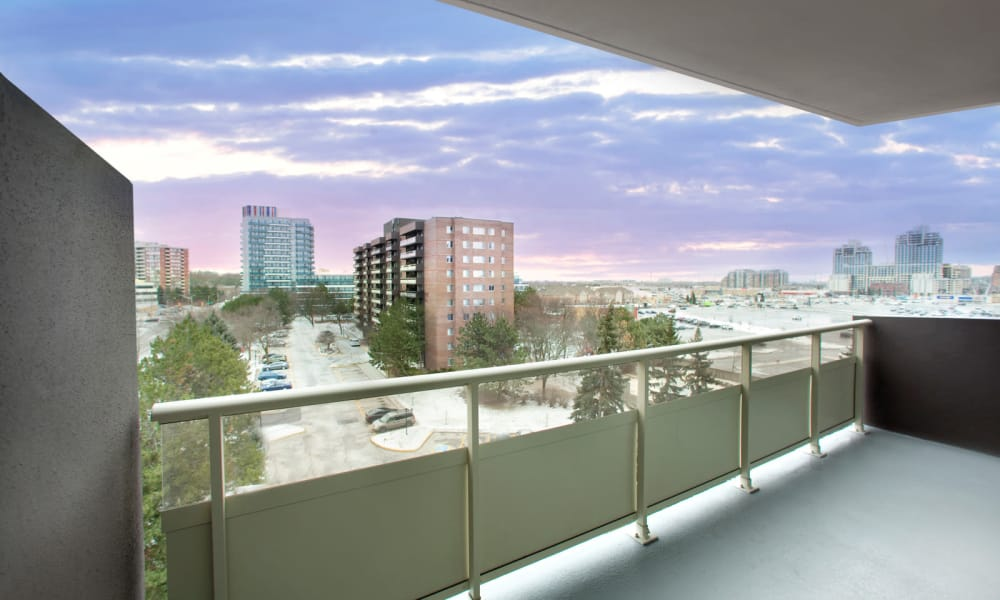 Stunning views from balconies at Richmond Hill Apartments in Richmond Hill, Ontario