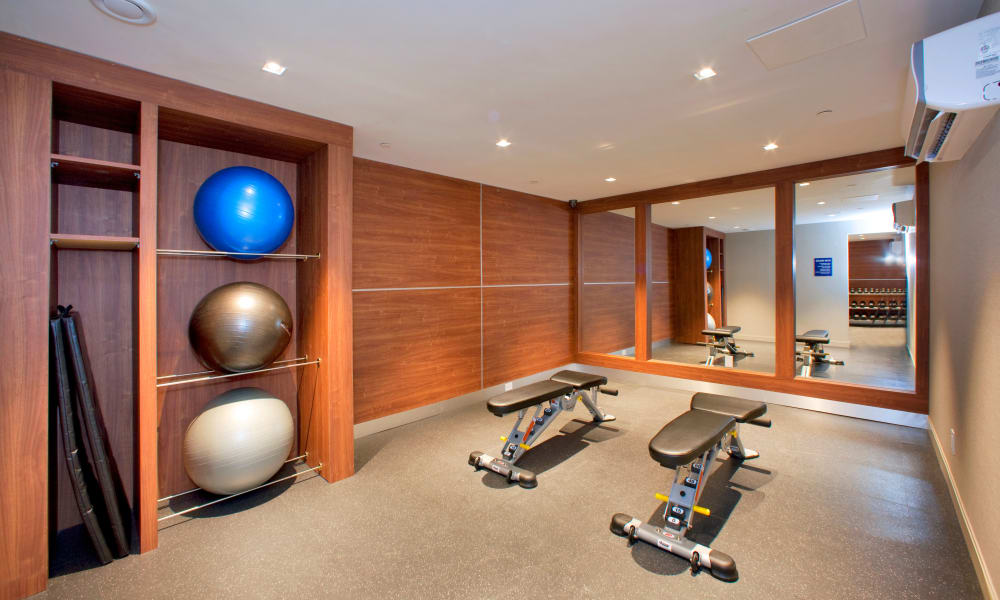 Richmond Hill Apartments fitness facility in Richmond Hill, Ontario