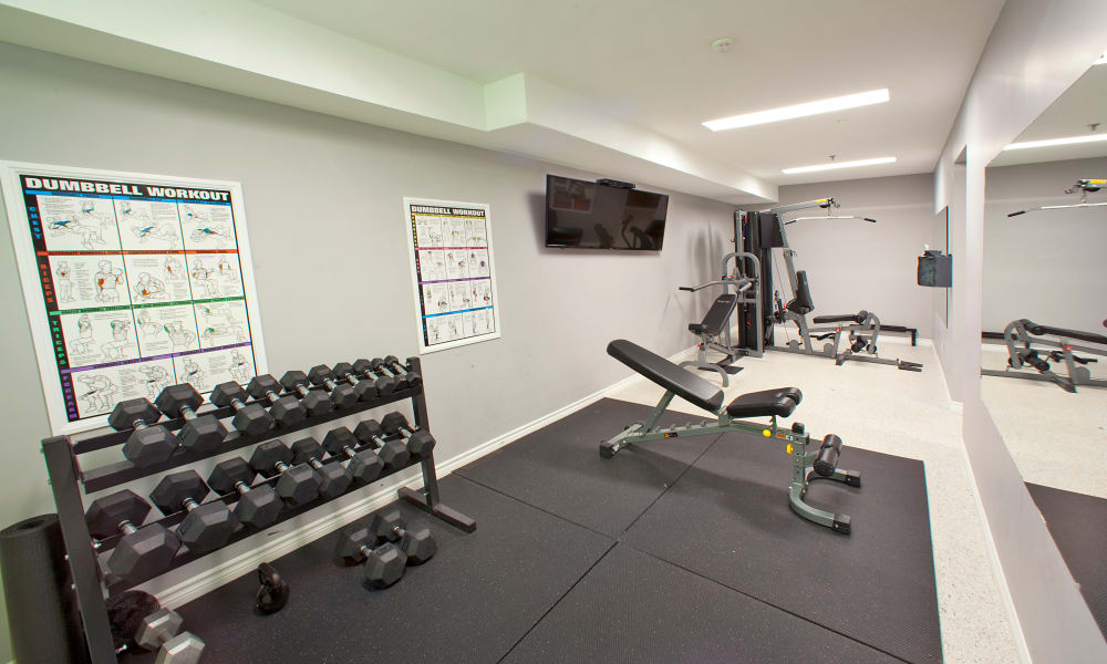 Stay healthy in the StoneCrest Village fitness centre