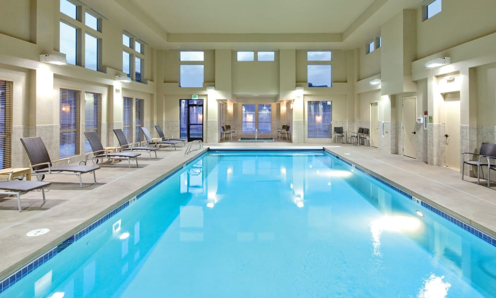Pool and spa at Affinity Living Communities