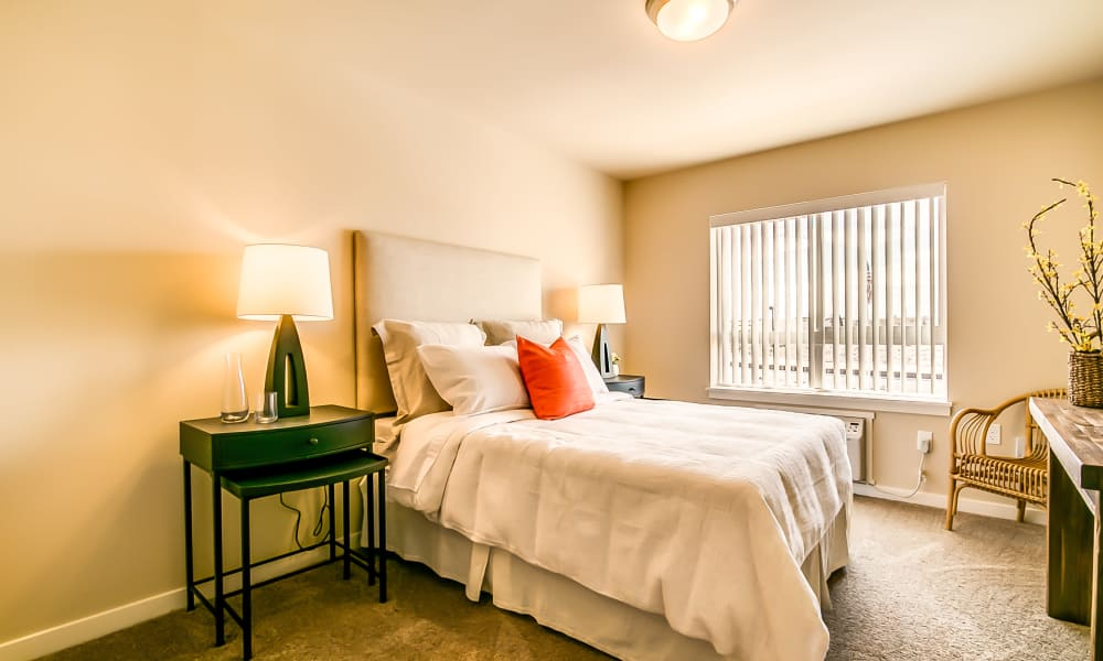 Bedroom at Affinity Living Communities